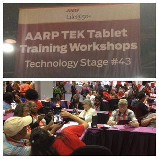 AARP tablettes